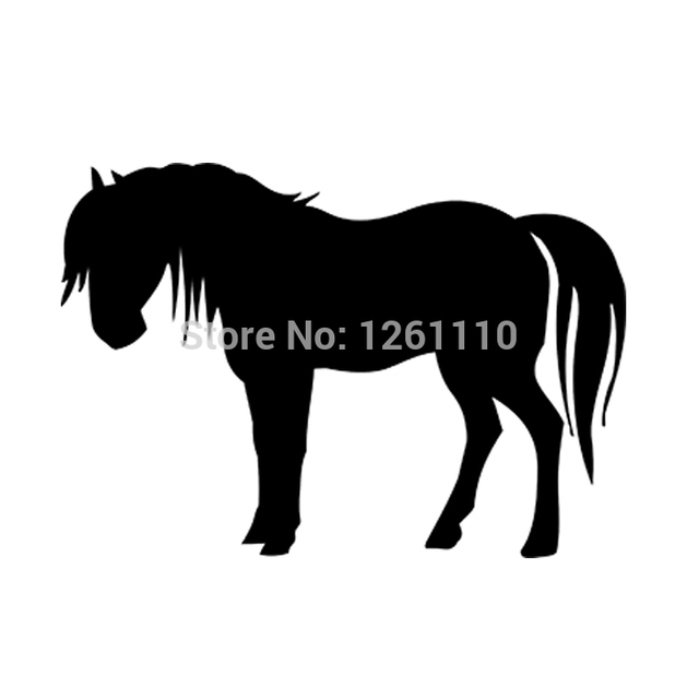 Horse silhouette - Vinyl Decal Bumper Stickers for Car Truck Window Wall Art laptop Notebook Glass  sc 1 st  AliExpress.com & Horse silhouette Vinyl Decal Bumper Stickers for Car Truck Window ...