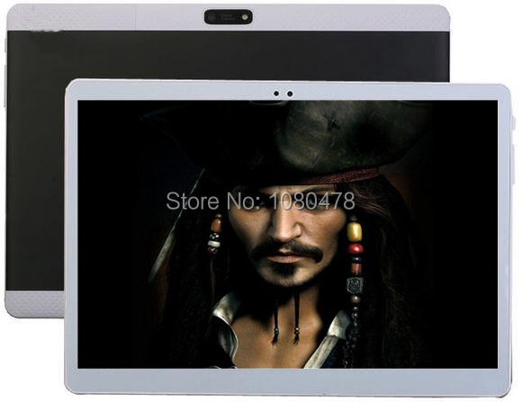 2017 New 10 inch 4G LTE Tablet Android 6.0 8.0MP Octa Core 4GB+64GB Dual SIM Cards 1920*1200 IPS HD 10.1 inch GPS Tablet PC+Gifs