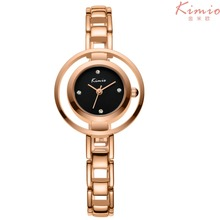 2017 New Luxury Brand Watch Casual KIMIO Alloy Women Quartz Watch Rose Gold Lady Dress Watch Relojes Mujer Relogio Montre Femme