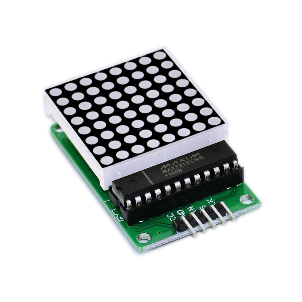 Keyes MAX7219 dot matrix module for arduino(microcontroller module+LED display)