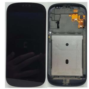 Image 1 - الأصلي الأسود مع الإطار الجبهة LCD ل Yotaphone 2 YD201 YD206 شاشة الكريستال السائل محول الأرقام + شاشة تعمل باللمس الجمعية + أدوات