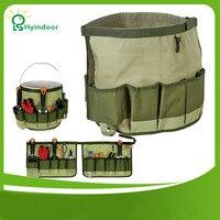 Organizer Foldable Hardware Tools Kit Bag Garden Tools Bag 600D Oxford Garden Bucket Bag