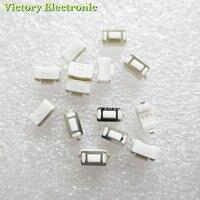 100 pçs/lote 3*6*4.3mm 2pin smd tact botão interruptor de toque interruptor micro 3x6x4.3 h botão branco push button micro switch push buttonbutton touch -