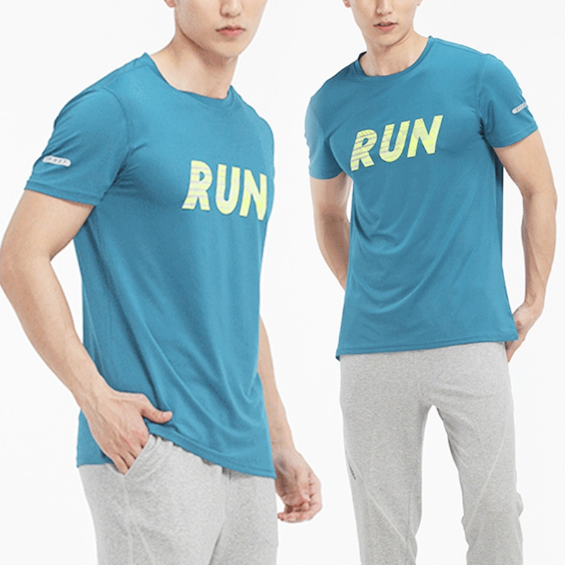 Sport Men Short Sleeve T Shirt Gym Running Training Quick Dry Sportswear Jerseys