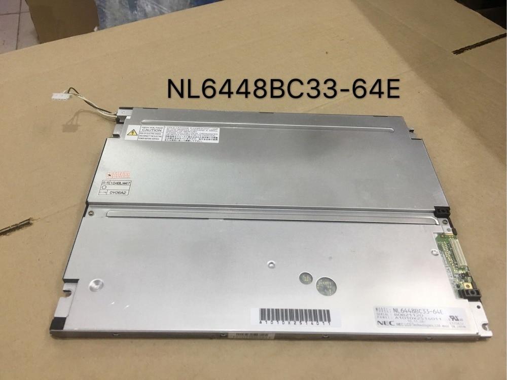 10.4'' inch 640*480 NL6448BC33-64R NL6448BC33-64E LCD Display Screen Panel