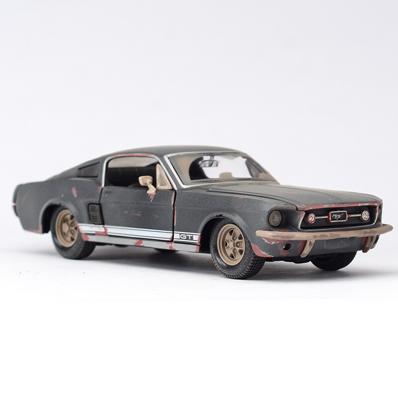 Maisto 1:24 Ford Mustang GT 1967 Diecast Model Car Toy Cars Model Vintage Car 1 32 scale jada jdm tuners ford gt datsun 510 chevy pickup honda nsx mazda rx 7 nissan skyline gt r r35 diecast racing model toy
