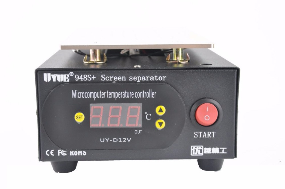 110/220V Built-in Vacuum Pump 7 inch for iphone Glass LCD Separator Split Screen Repair Machine for Samsung built in air vacuum pump ko semi automatic lcd separator machine for separating assembly split lcd ts ouch screen glas