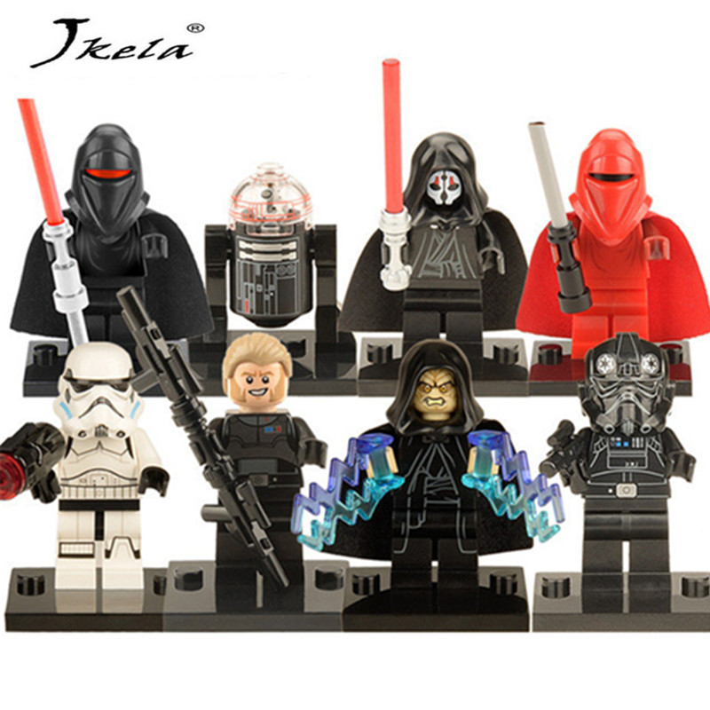 [Jkela] 1PC Star Wars Kallus R5D4 Robot Count Dooku Darth Vader Darth Maul Building Blocks Toy Compatible Legoingly starwars