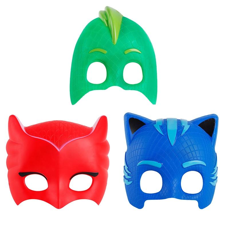 1-3pcs/set pj character masks oyuncak pjmask kids toys for children boys pyjamasque