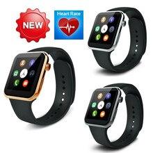 A9 Золотые Мужские Часы Smart Watch для Apple iPhone 6 5S 5C 5 Наручные Часы для Samsung S4/S3/Note2/Note3 HTC Huawei Android смартфон
