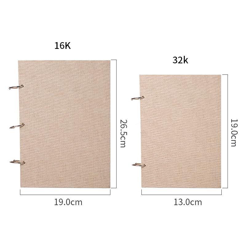 Bgln 8K 16K 32K Sketch Paper Sketchbook Paper For Drawing Painting Diary Professional Notebook Notepad Stationery Art Supplies in Painting Paper from Office School Supplies