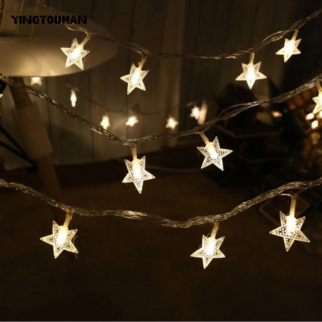 Garden String Lights Custom YINGTOUMAN Twinkle Light Christmas Holiday Party Decoration Light