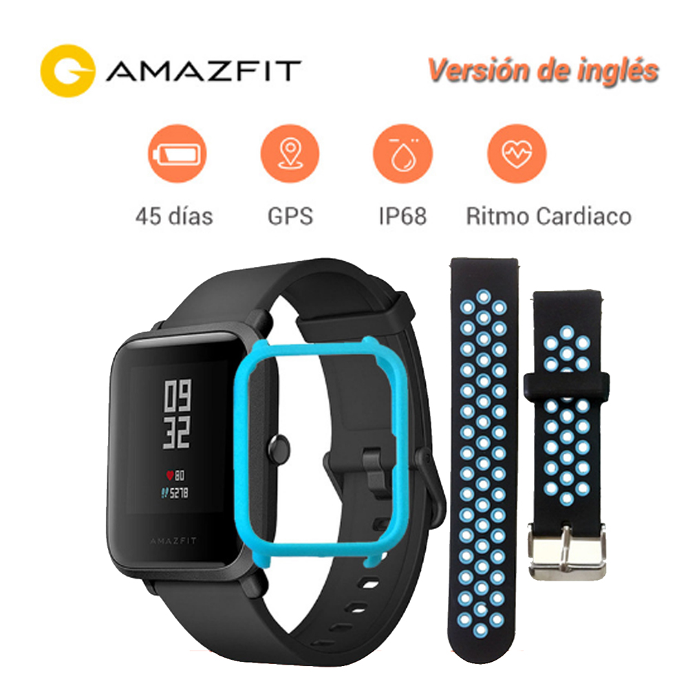 Xiaomi Huami Amazfit Bip Smart Watch Youth Version Pace Lite Bluetooth 4.0 GPS Heart Rate 45 Days Battery IP68