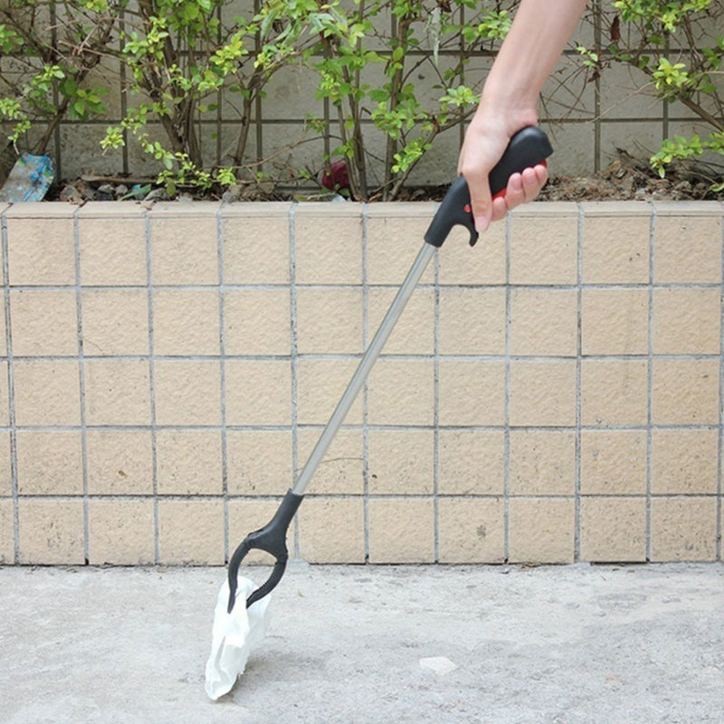 55cm Garbage Pick Up Tool Grabber Reacher Stick Multi-Purpose Easy Reaching Tool Long Handle Trash Pickup Grabber Tool