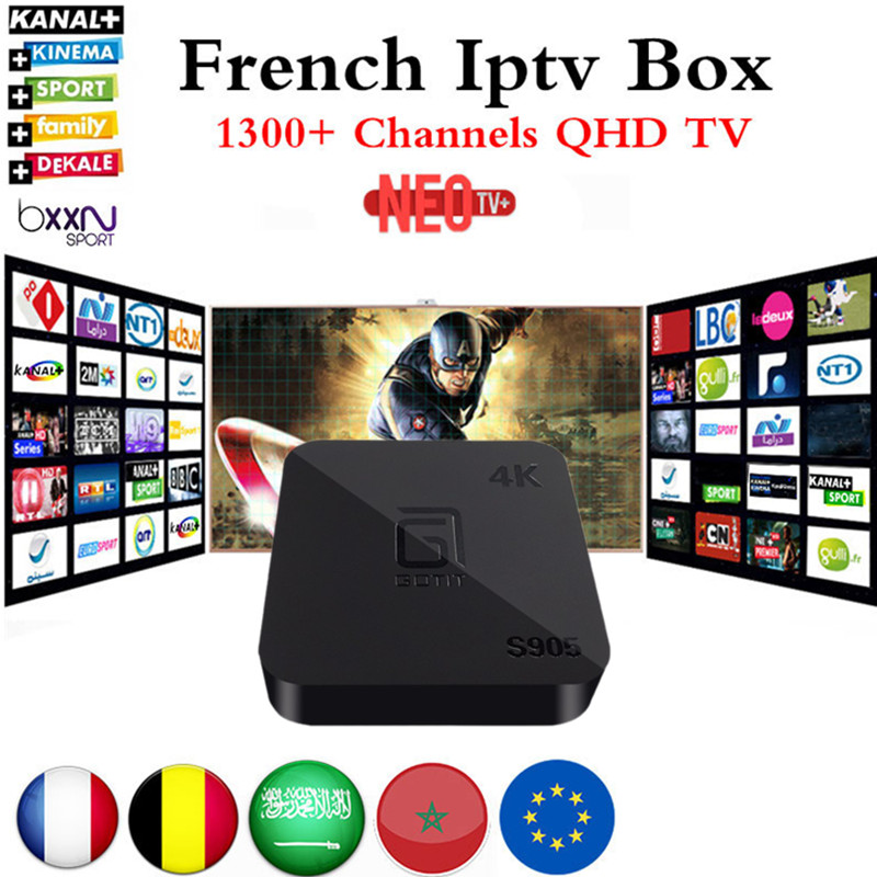font b Best b font Quad Core Android TV Box with 1 Year 1300 Arabic