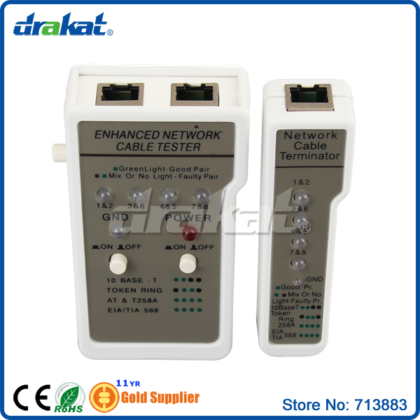 Enhanced UTP STP RJ45 Ethernet Cable Tester-in Networking Tools from ...