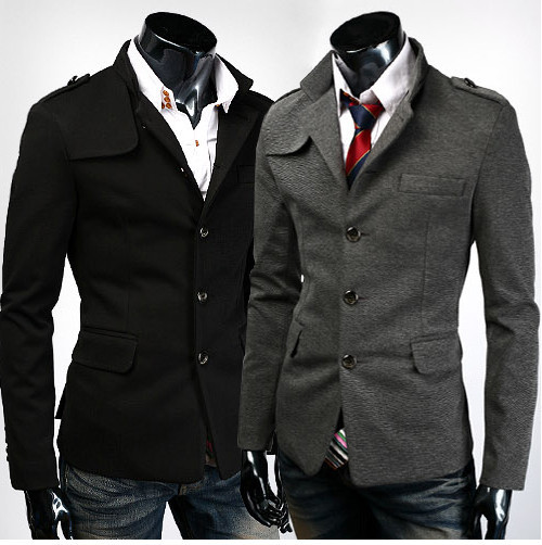 The fit of a jacket is of special importance because it acts as the foreground of an outfit. The shape of a jacket's lapels help lead the viewer's eye up to the face. The length of the jacket affects the appearance of the length of your legs and torso. Your jacket is central in determining.