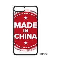 Made in China Chinois Motif Amour Rouge Étoiles Drapeau Symbole Signe Dragon Téléphone Cas pour iPhone X 7/8 Plus Cas Phonecase Couverture