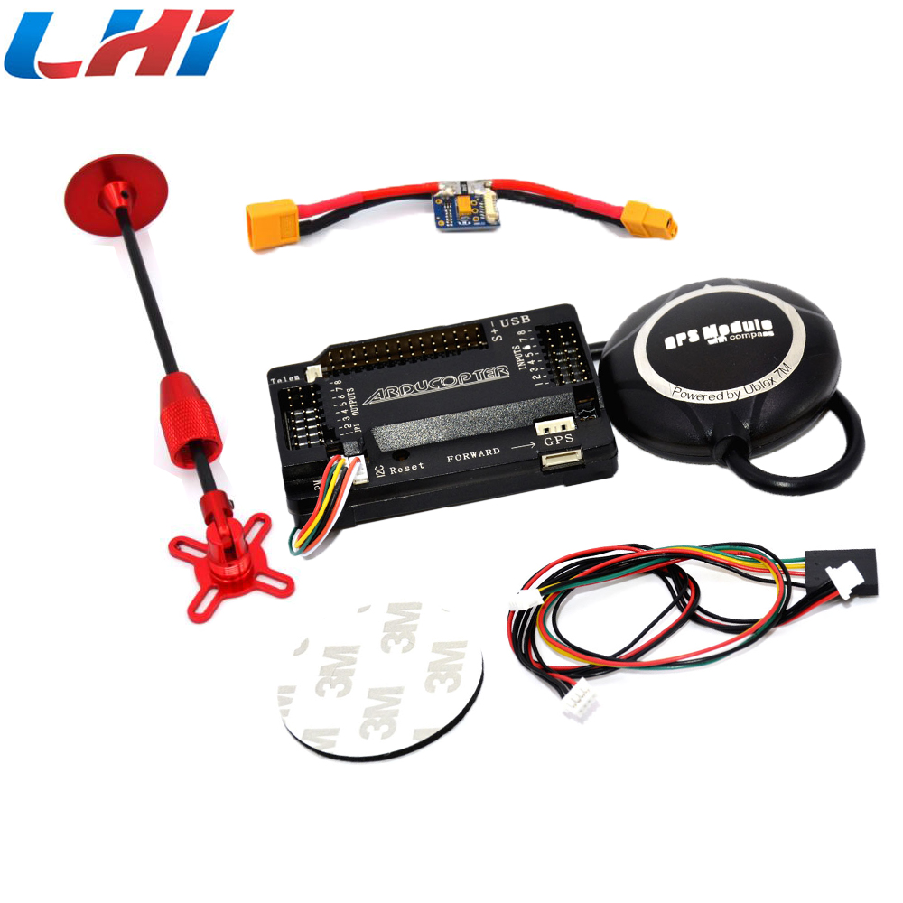 цена на APM 2.6 +NEO-7M Flight Controller GPS Module with Shell for APM 2.6 2.5 with UBEC