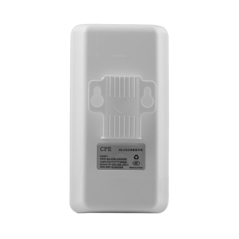 Sécurité 4G routeur sans fil prise carte SIM qualité industrielle étanche CPE sans fil wifi extérieur CPE 4G routeur