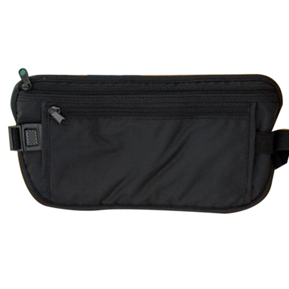 Fashion Women Men Waist Bum Bag Fanny Travel Holiday Waist Belt Handy Money Belt Pouch Wallet Pack Zipper Pocket Bolsa #22