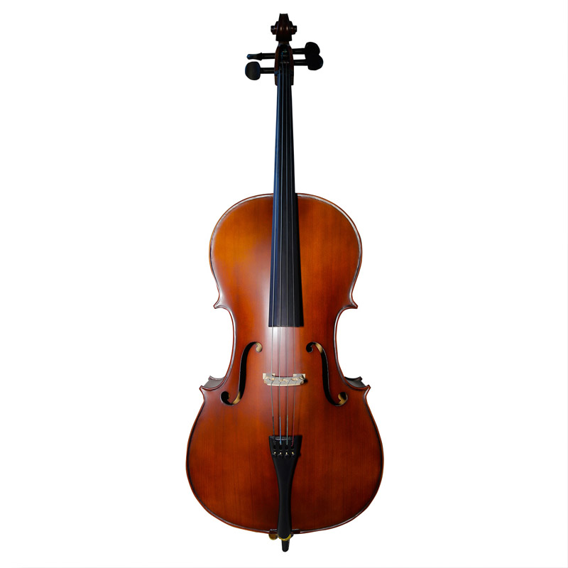 High Quality 4/4 4/3 1/2 1/4 Cello Full Size TONGLING Antique Violonchelo For Beginner Student Acoustic Musical Instrument
