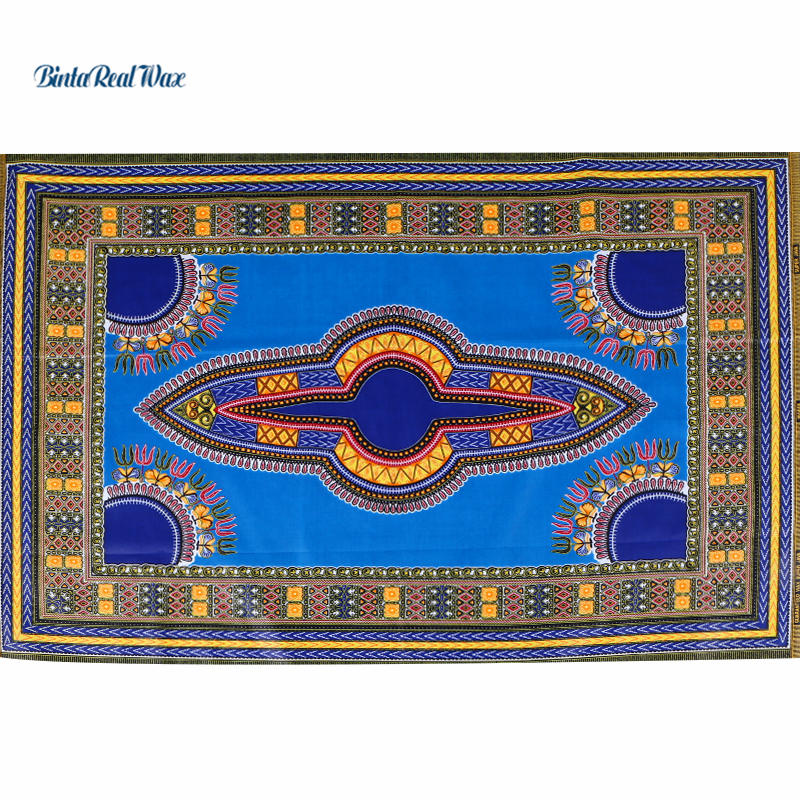 Dashiki Wax Fabric 2018 African Fabric for Dress Java Wax Print Cotton Fabric Textile 6yards Dashiki