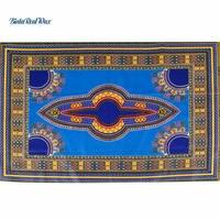 Dashiki Wax Fabric 2018 African Fabric for Dress Java Wax Print Cotton Fabric Textile 6yards Dashiki Fabrics 24FJ2016