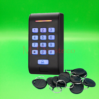 Backlight Keypad 125khz Rfid Access Control EM ID Keypad Single Door Stand Alone Access Controller Wiegand