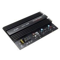 1 ADET 12 V 1000 W Mono Araç Ses Güç Amplifikatör Güçlü Bas Subwoofer Amp PA-80D Entegre Devreler