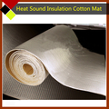 35cm x100cm Aluminum Foil Car Door Roof Tailgate Noise Control Soundproof Heat Insulation Cotton Deadener Waterproof