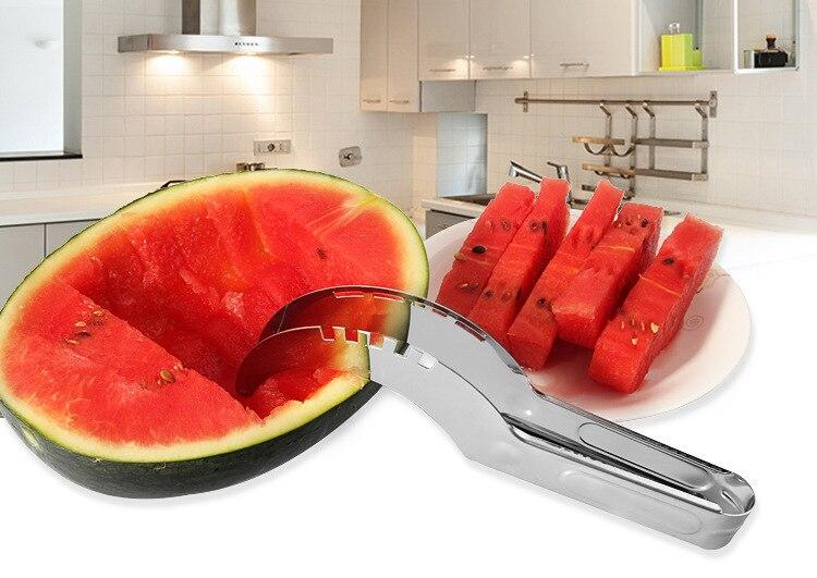 1 шт. обновленная версия S/Сталь арбуз Slicer Ножи Бур Кухня Интимные аксессуары фрукты овощи Посуда Инструменты кв 078