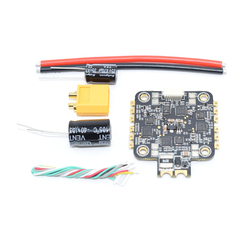 купить BLHeli_32 Dshot1200 35A 4 IN 1 3-6S Current Sensor Brushless ESC For RC Models Drone FPV Racing Multi Rotor VS Racerstar онлайн