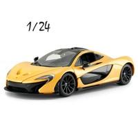 1/24 McLaren P1 Alloy Car Model Exquisite Simulation Gift Collection Static Die cast Model