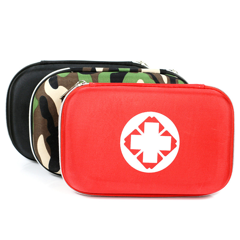 Empty EVA waterproof durable first aid box first aid kit survival drug storage box travel vehicle