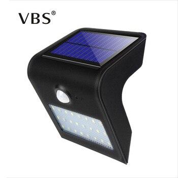 LED Solar Light PIR Motion Sensor Waterproof Solar Lamp 24 LED Outdoor Garden Corridor Wall Night Security Lamp Lampada Solar