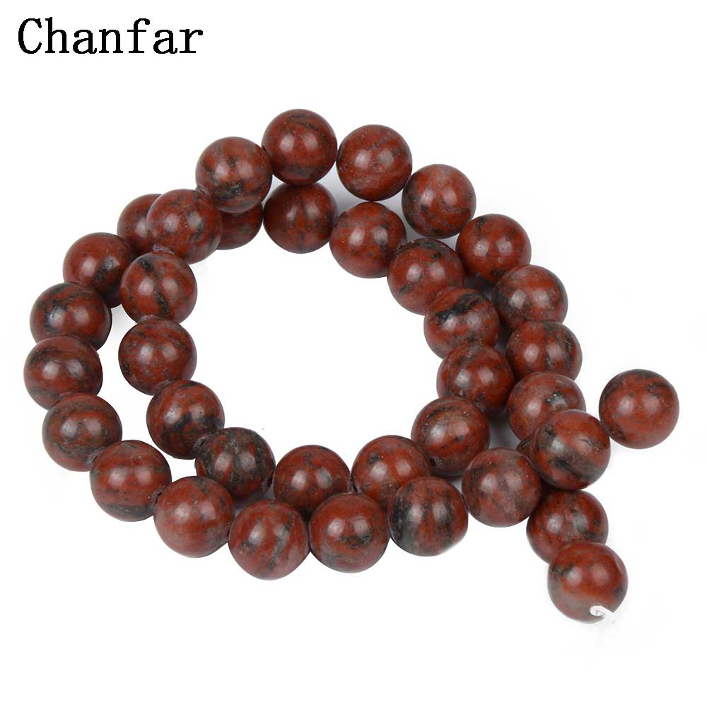 Sesame Red Beads Women Jewelry Fashion Making Beads 4 6 8 10 12mm