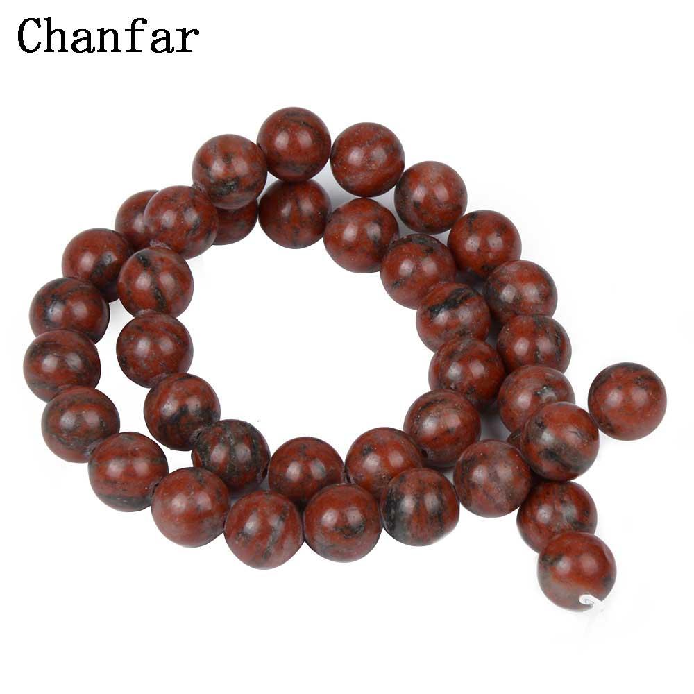 Sesame Red Beads Women Jewelry Fashion Making Beads 4 6 8 10 12mm