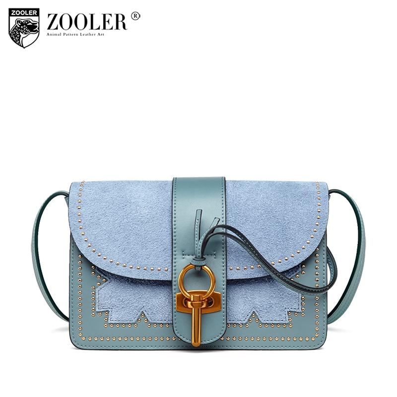 купить Brand High Quality Genuine Leather Bag ZOOLER woman Shoulder Bag Luxury Designer bags bolsos mujer de marca famosa 2018 W118 по цене 4219.64 рублей