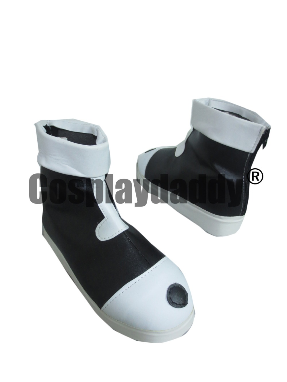 Hunter X Hunter Killua Zaoldyeck White Black boots cosplay shoes S008