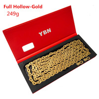 YBN Mountain Bike 11speed Chain Road Folding Bicycle 22 33 Speed Gold Hollow Semi hollow Chain