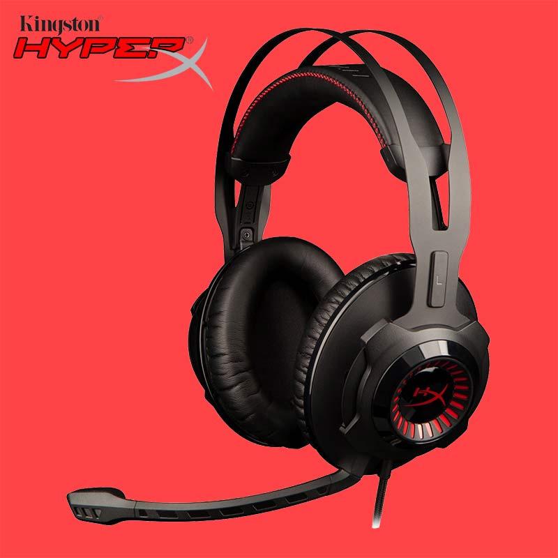 Kingston HyperX Nube Revolver E-sport Gaming Auricolare a Filo microfono Rimovibile per PC, Xbox One, Xbox One DJ 3.5mm Cuffie