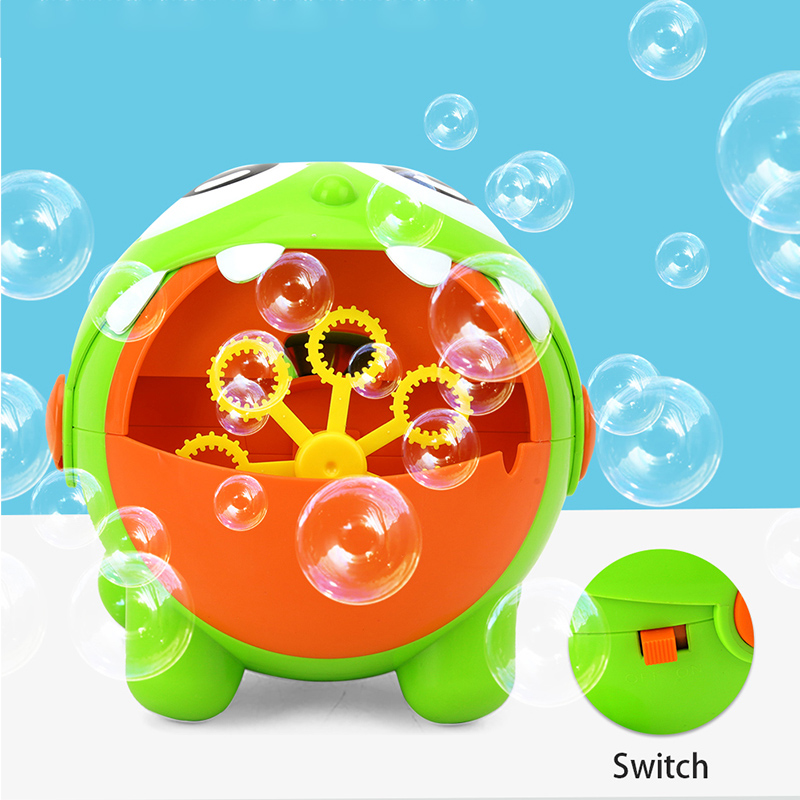Bubble Machine Dragon Automatic Bubble Maker for Kids Bath Toy Gifts Games Outdoor Indoor YH 17