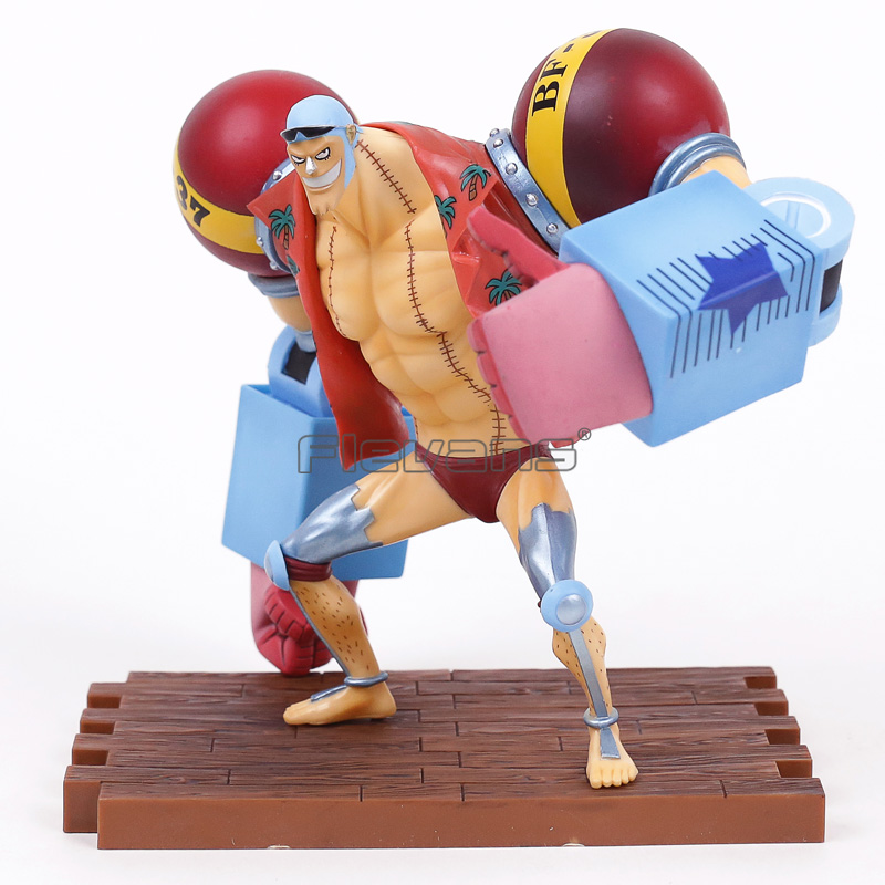 Anime One Piece Franky 20th Anniversary ver. PVC Figure Collectible Model Toy shfiguarts batman injustice ver pvc action figure collectible model toy 16cm kt1840