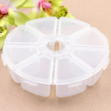 1Pc Plum blossom Storage Bottles & Jars Travel Vacations pills Jewelry Electronic materials and accessories Box