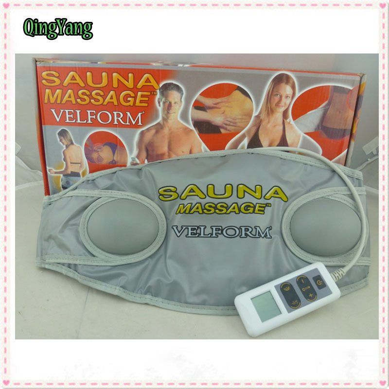 ФОТО Sauna Slimming Belts.Beauty Body Wrap Health Care Fat Reduction Waist Burner Massager. Heating Vibration