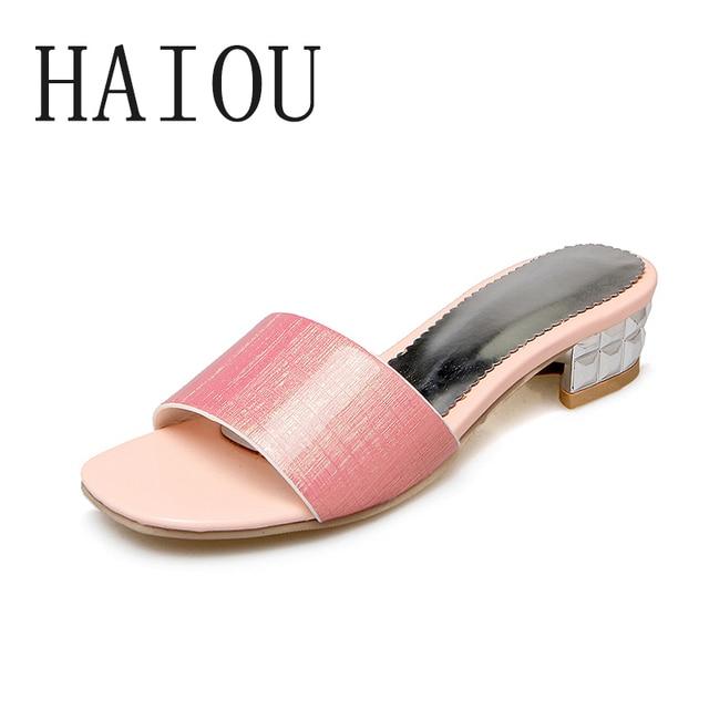b51194f5880ee Summer Woman Shoes Platform Bath Slippers Wedge Beach Flip Flops High Heel  Slippers for Women Brand Black Rubber Ladies Shoes