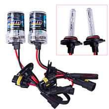 2pcs hid bixenon kit bulb 35w 4300k 6000k H1 H7 9005 styling Car light(China)