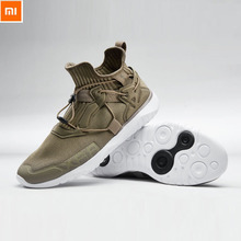 Original Xiaomi RAX breathable flying weave running shoes Cushioning EVA Lightweight Soft Comfortable smart Sports Sneaker Shoes