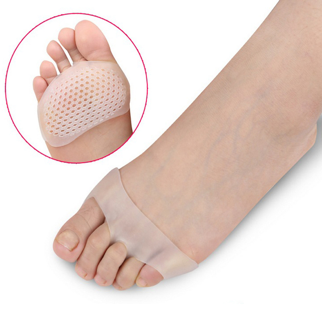 Soft Silicone Gel Toe Pads High heel Shock Absorption